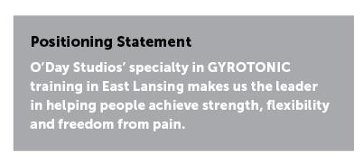 brand positioning statement