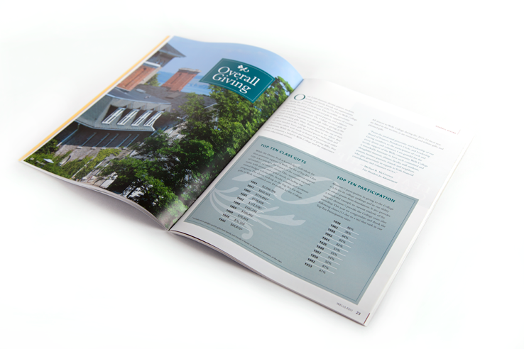 Pages from Express - Wells College's alumni magazine, Fall 2012 issue