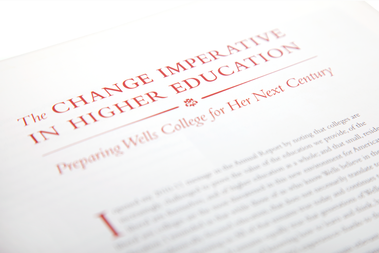 Page from Express - Wells College's alumni magazine, Fall 2012 issue