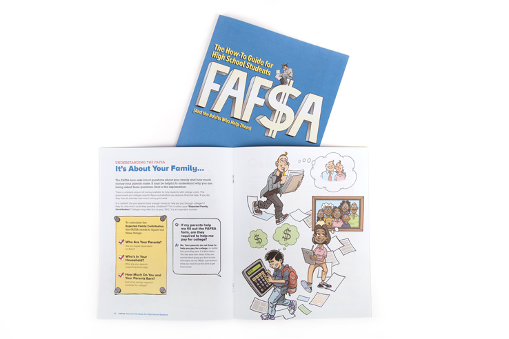 FAFSA: The How-to Guide for High School Students (printed manual)