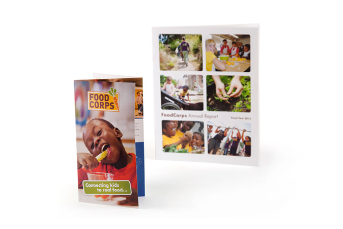 FoodCorps - 2012 annual report & overview brochure