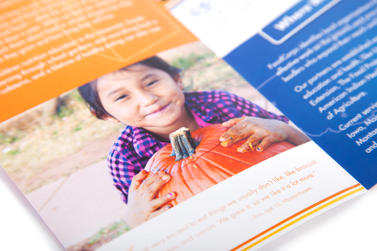 FoodCorps brochure - overview of programs & mission