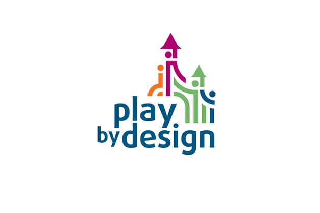 Play by Design's new logo