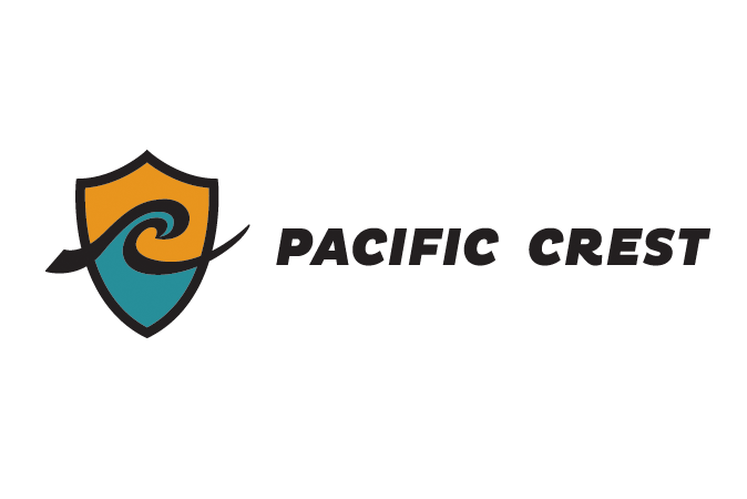 Pacific Crest's new logo - horizontal orientation