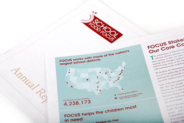 School Food FOCUS 2011 Annual Report