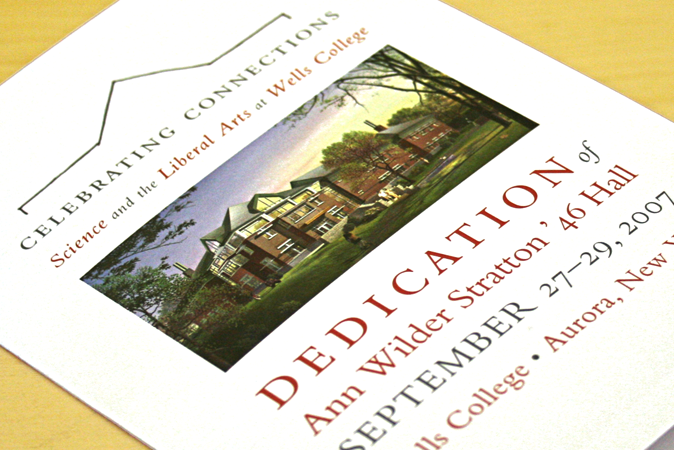 Invitation for building dedication
