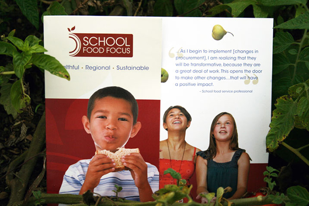 Tri-fold brochure - a general overview of School Food FOCUS