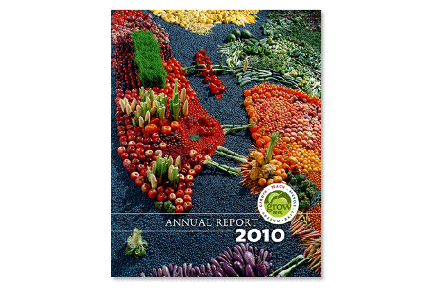GrowNYC 2010 annual report - front cover