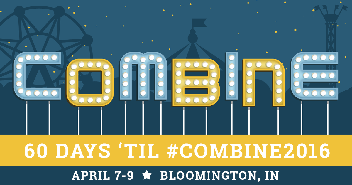 The Combine conference, Bloomington, Indiana