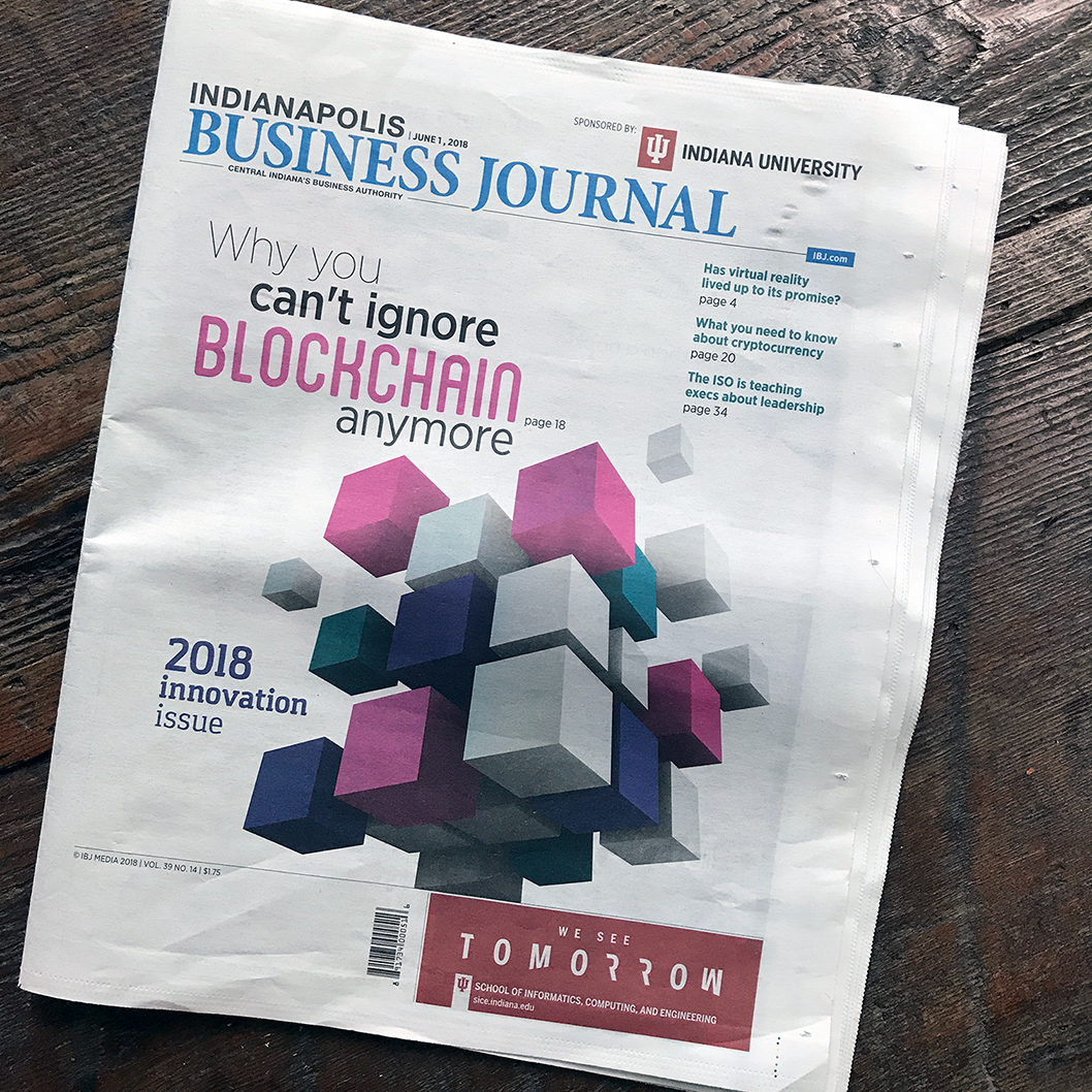 Julia Reich in the IBJ 2018 Innovation Issue