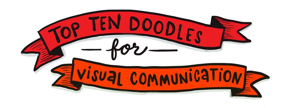 top ten doodles for visual communication title
