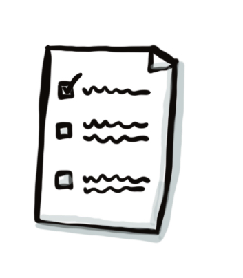 top ten doodles for visual communication - checklist