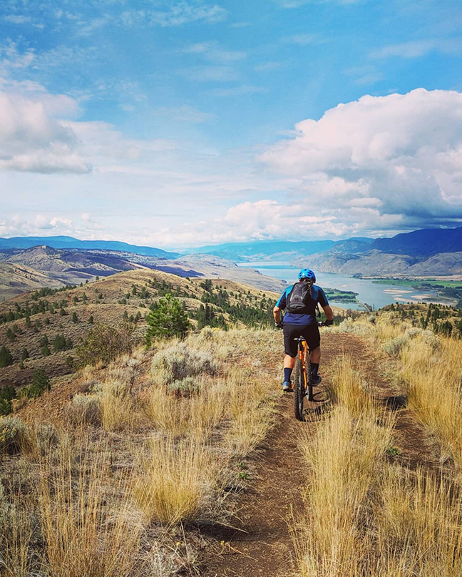 Kamloops ride with William