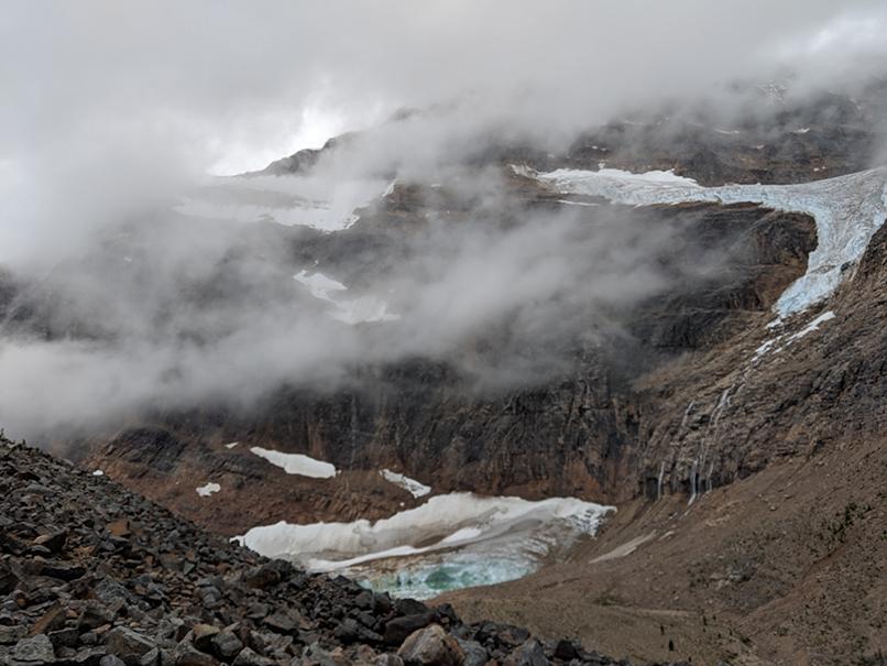 glacial pond, Jasper