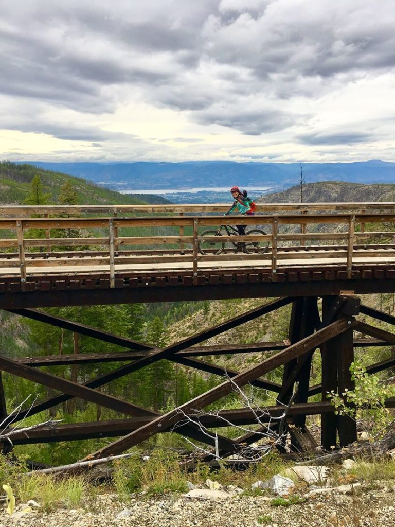 myrna rail trail-Julia-bridge