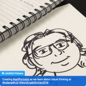 visual thinking 101: self-portraits in 8 easy steps