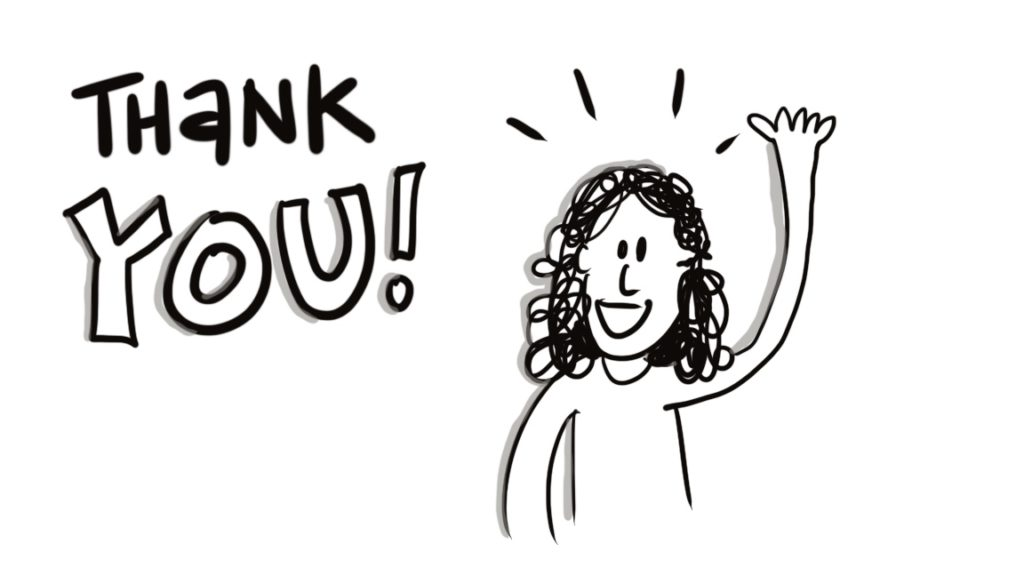 visual thinking 101: thank you