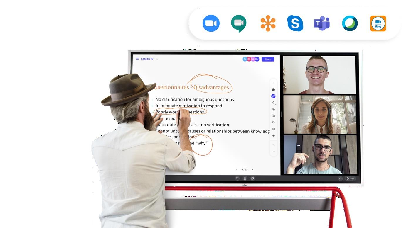 Vibe interactive digital board