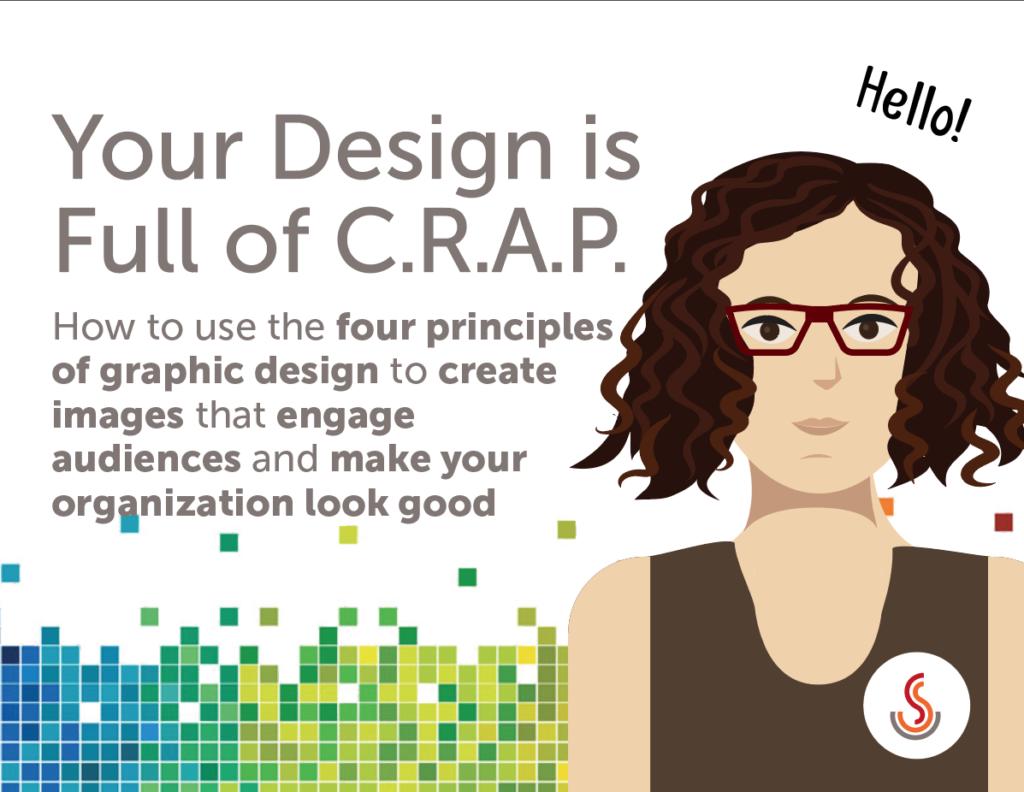 your design is full of CRAP